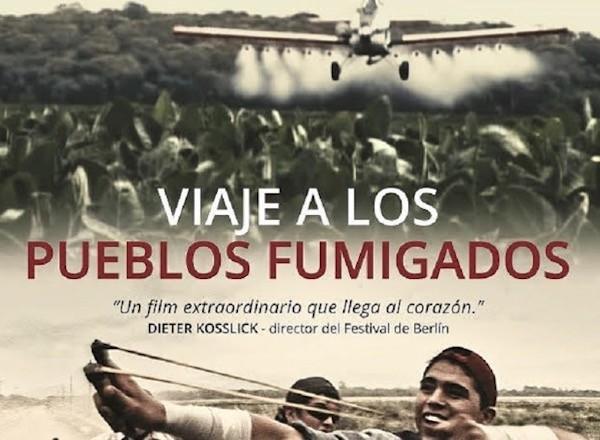 pueblos fumigados Solanas poster