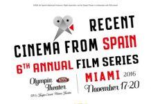 Recent Cinema Spain en Miami, cartel