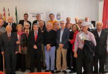 Participantes en el encuentro para recordar el periódico Sol de España