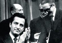 Adolfo Suárez y Torcuato Fernández Miranda, artífices de la Reforma Politica