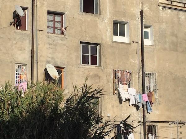 Tánger, barrio de Marshan donde se encuentra el centro de acogida de Hasnouna