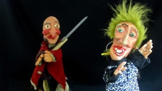 Escenas de La Bruja y Don Cristobal