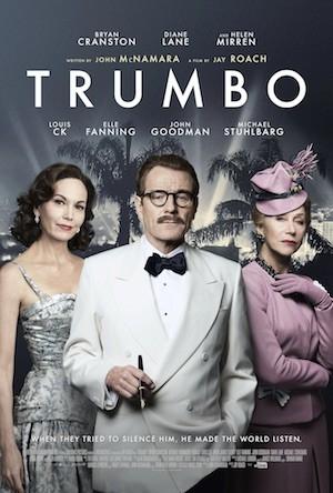 Trumbo, póster de la película