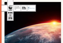 WWF: Planeta Vivo, informe 2016, portada