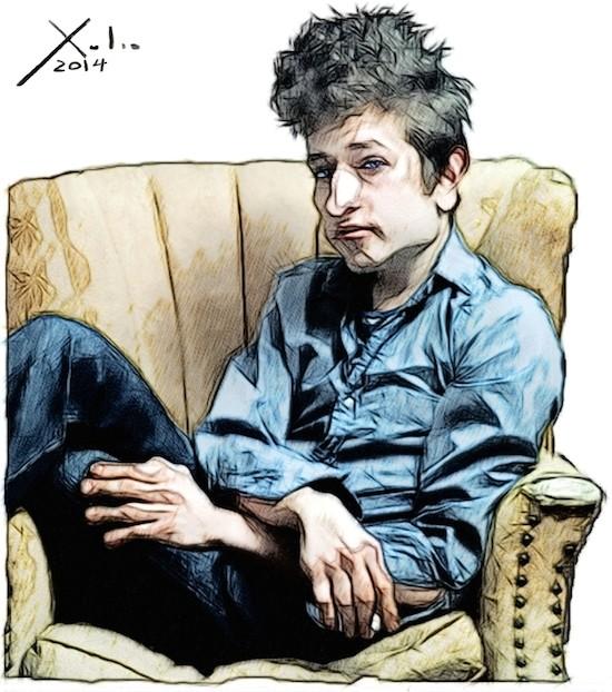Xulio Formoso: Bob Dylan