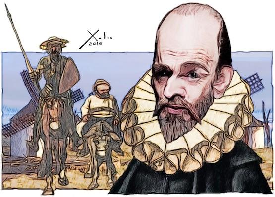Xulio Formoso: Cervantes III Quixote